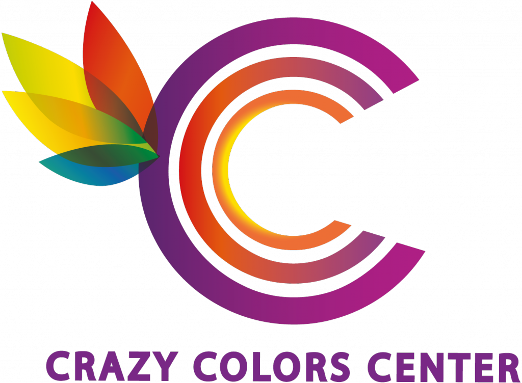 LOGO CRAZY Colors Center